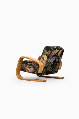 Superb Vintage Lounge Chair By Alvar Aalto For Artek Pabps2019 Chair Design Images Pabps2019Com