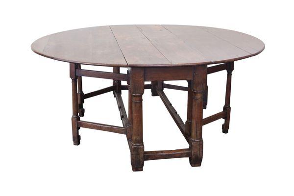 Antique Drop Leaf Table, 19th Century 9 - Antique Drop Leaf Table, 19th Century For Sale At Pamono