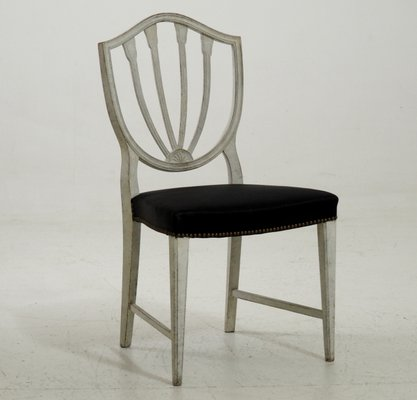 Antique Chairs with Horsehair, Set of 8 1 - Antique Chairs With Horsehair, Set Of 8 For Sale At Pamono