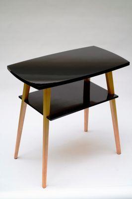 vintage factory furniture. Vintage TV Table By Leśniewski \u0026 Lejkowski For Cracow Furniture Factory 3