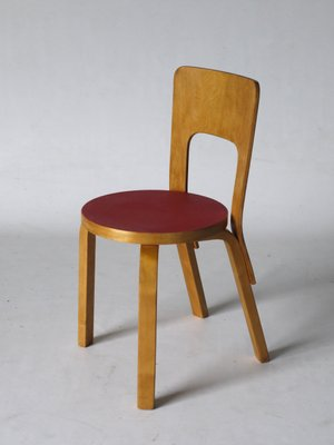 Genial Model 66 Side Chair By Alvar Aalto For Artek 1