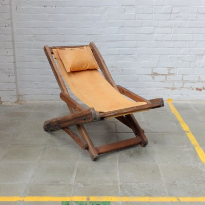 Vintage Beach Lounge Chair 1