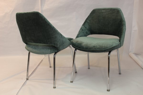 Armchairs By Egon Eiermann For Wilde Spieth 1978 Set Of 2 For