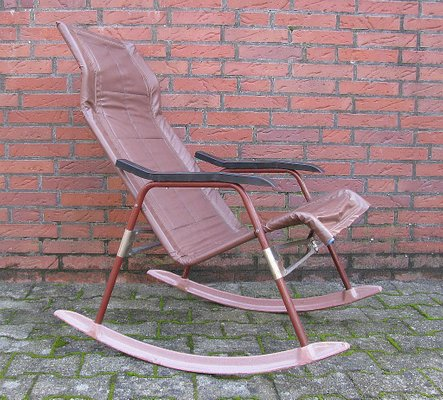 Vintage Rocking Chair By Takeshi Nii Ny 1960s For Sale At Pamono