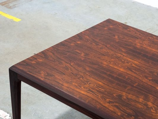 Large Vintage Coffee Table By Johannes Andersen For Cfc Silkeborg 2