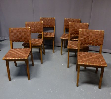 Vintage Chairs By Jens Risom Set Of 6 2