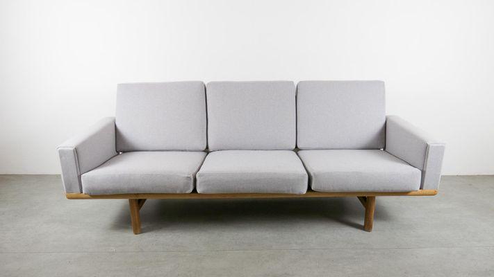 Charmant Vintage GE236 Sofa In Oak By Hans Wegner For Getama 1