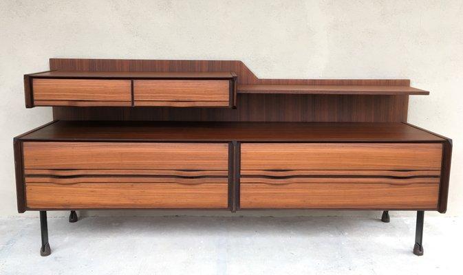 La Credenza Mobile : Credenza mid century di la sorgente dei mobili arosio italia anni