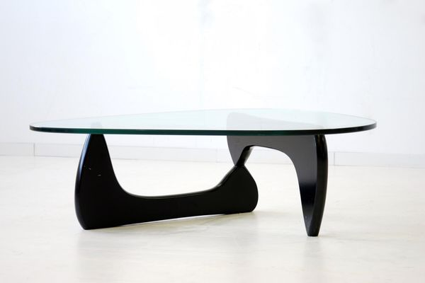 Glass for coffee table Oak Glass Coffee Table By Isamu Noguchi For Herman Miller 1960s Pamono Glass Coffee Table By Isamu Noguchi For Herman Miller 1960s For