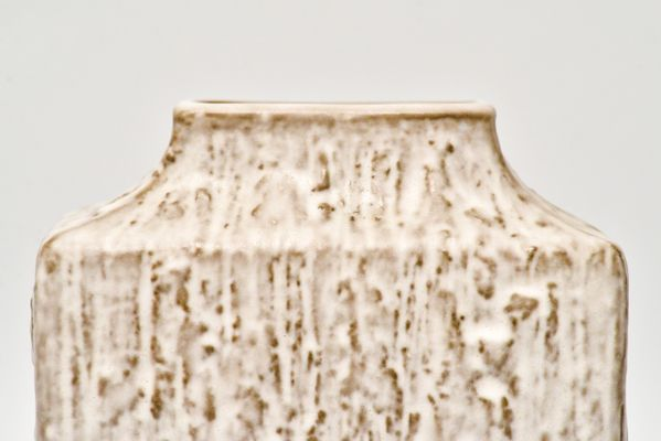 Rechteckige Vintage Relief Vase von Friedegard Glatzle für Karlsruhe ...