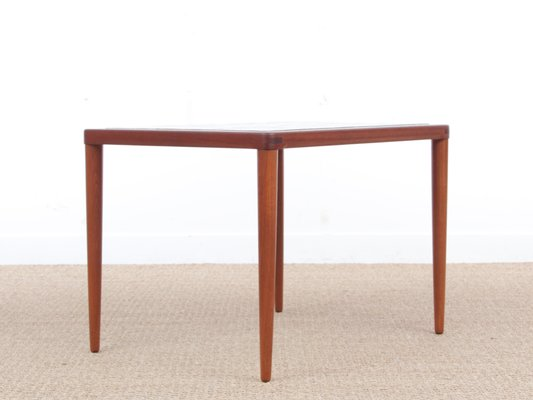 Side Table Klein.Mid Century Modern Teak Coffee Table With Ceramic Tiles By H W Klein