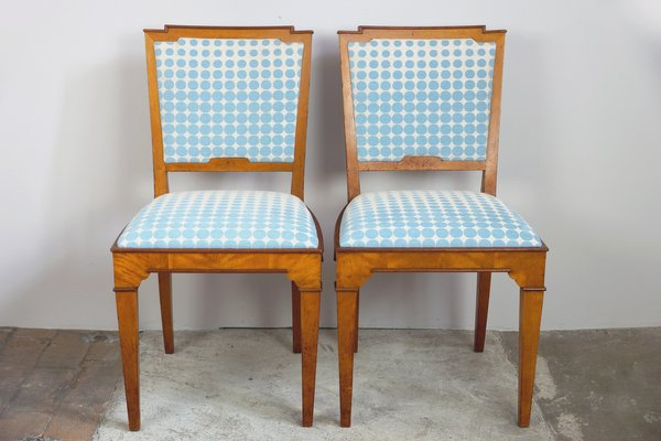 Vintage Dining Room Chairs, 1920s, Set of 2