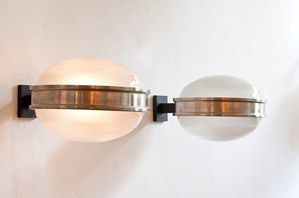 the best attitude 61515 7992a Wall Sconce by Sergio Mazza for Artemide, 1960s