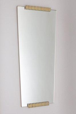 Specchio da parete Mid-Century moderno, anni \'50 in vendita su Pamono
