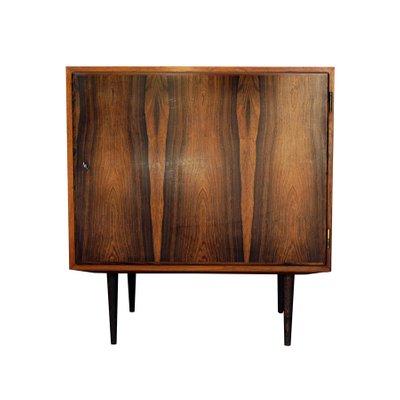 Vintage Small Cabinet In Rosewood Veneer By Poul Hundevad