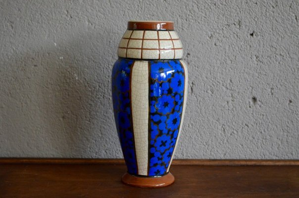 Vintage Art Deco Vase From Auguste Mouzin For Sale At Pamono