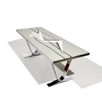 check-out 416dc 44b4d Table Basse Futuriste avec Mosaïque, Allemagne, 1960s