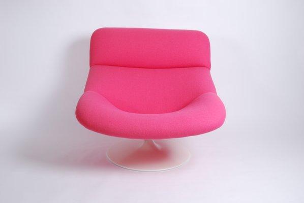Swell Vintage Pink F518 Lounge Swivel Chair By Geoffrey Harcourt For Artifort Machost Co Dining Chair Design Ideas Machostcouk