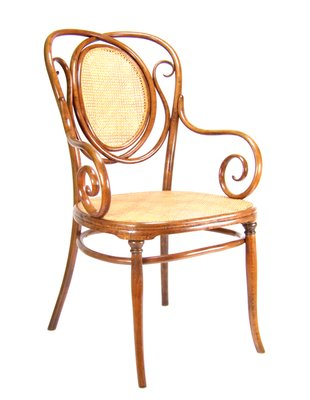 About A Chair 22 Armchair.Antique No 22 Armchair From Thonet