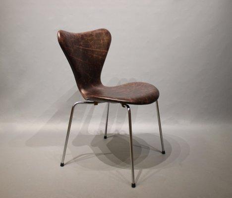 Modell 3107 Stuhl Von Arne Jacobsen Für Fritz Hansen 1967 Bei