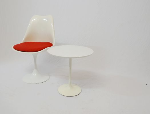 Tulip Chair Table S Set Of For Sale At Pamono - Tulip chair and table set