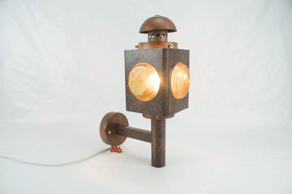 Navi applique d extérieur hublot lampe ovale en laiton