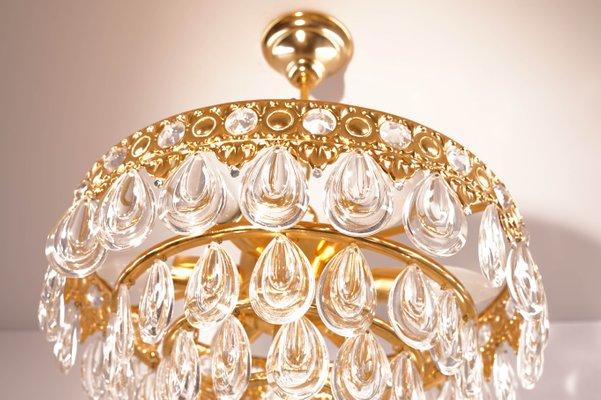 Hängelampe Kronleuchter Kristall ~ Kronleuchter kristall oval l cm led oval kristall hängelampe