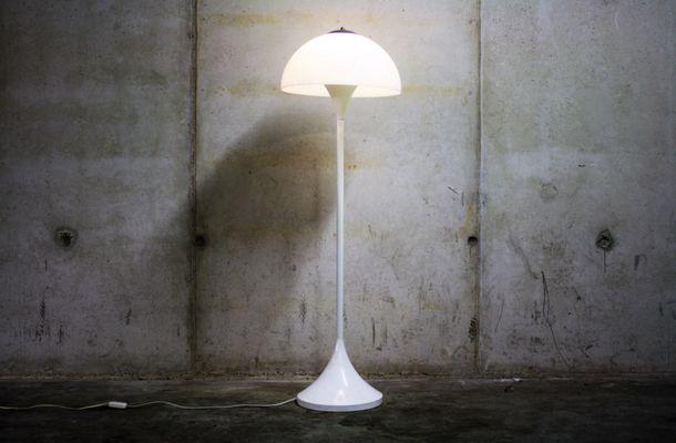 Lampada Vintage Da Terra : Lampada da terra vintage a forma di fungo di hala zeist anni 60 in