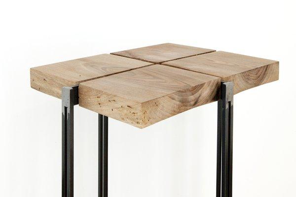 Genial Cross #3 High Side Table By UNDUO
