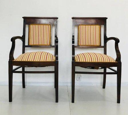 Italienischer Jugendstil Stuhl 1910er