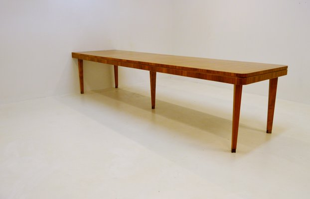 Large Conference Table In Mixed Woods S For Sale At Pamono - Large conference table for sale