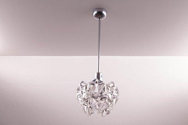 Lampade Da Soffitto Vintage : Lampada da soffitto vintage con cristalli esagonali di kinkeldey