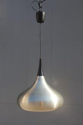 Lampara De Techo Minimalista De Metal Anos 60 En Venta En Pamono - Lamparas-minimalistas-de-techo
