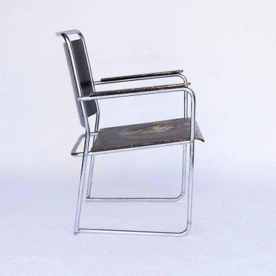 Superbe Vintage Tubular Chair, 1930s 3