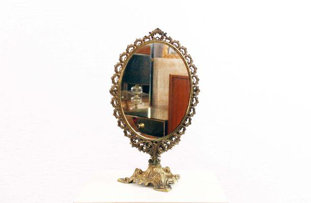 Espejo En El Marco Francia Suiza Um 1920 Espejos