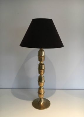 Mid Century Tall Br Table Lamps