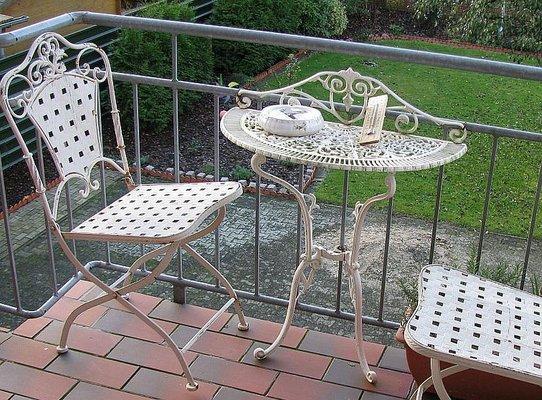 Franzosischer Gartentisch Aus Durchbrochenem Metall 1950er Bei