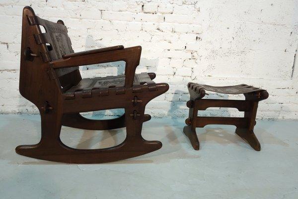 Rocking Chair Avec Repose Pied Par Angel Pazmino Pour Meubles De
