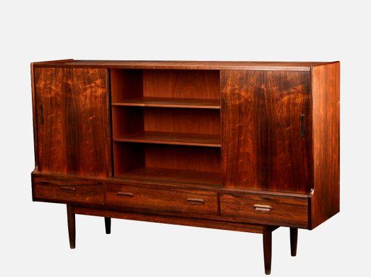 Mid Century Danish Modern Palisander Furnier Sideboard 1960er Bei