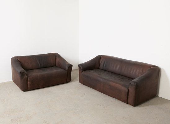 DS-47 3 und 2-Sitzer Sofas für de Sede, 1970er bei Pamono kaufen