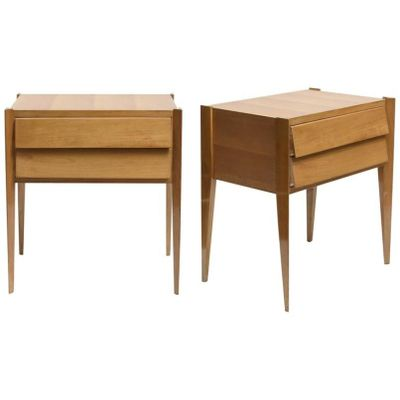 Incroyable Mid Century Modern Side Tables, Set Of 2 1