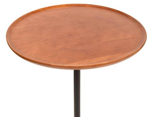 Tripode En Basse Merisier Vintage Table HD92IE