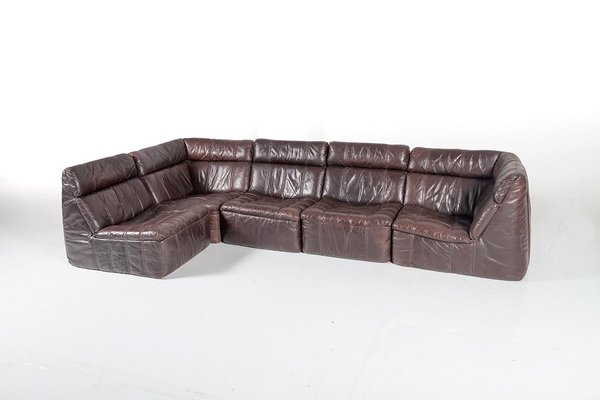 Rolf Benz 322 Design Bank.Vintage Modular Leather Sofa From Rolf Benz 1970s For Sale At Pamono