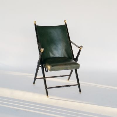 Folding Campaign Chair From Valenti, 1970s 1