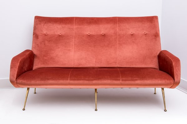 Italian Sofa And 2 Armchairs 1950s For Sale At Pamono
