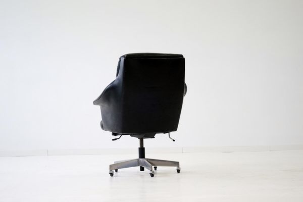 Executive Bureau Stoll1960s De Martin Giroflex Chaise Par f7IbvYgy6m