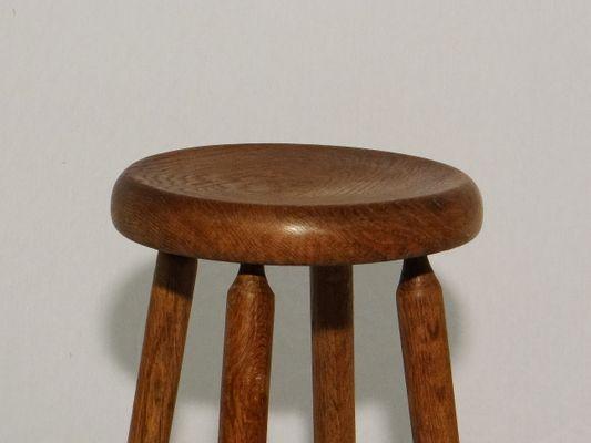 Sgabello babila legno design pedrali legno frassino tinto