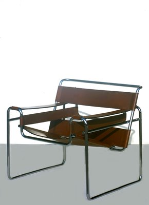 B3 Wassily Armchair By Marcel Breuer For Gavina 1960s For Sale At