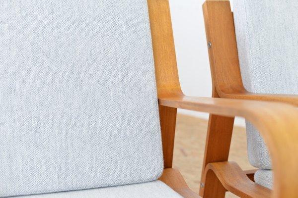 Lounge Chairs by Hans J. Wegner