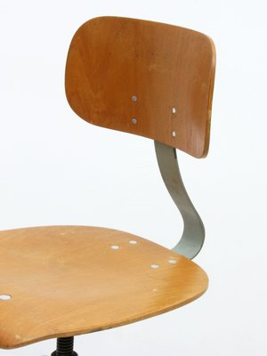 Stupendous German Industrial Swivel Office Chair From Anatomic 1950S Bralicious Painted Fabric Chair Ideas Braliciousco